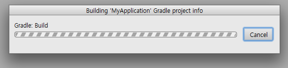 time for gradle build